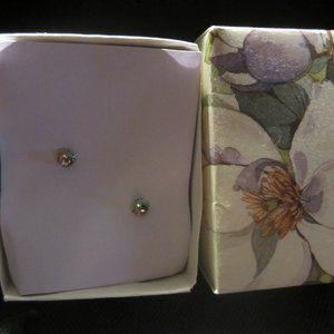 THS Jewelry - Handcrafted Dogwood Earrings